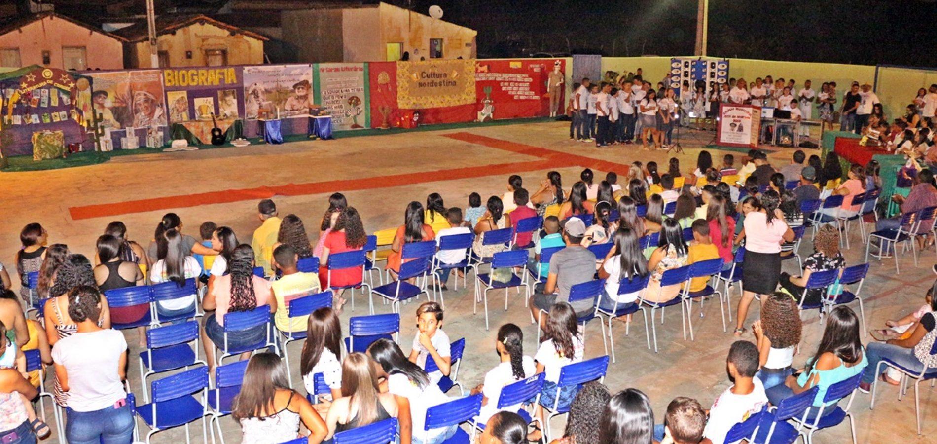 FOTOS | 4º Sarau Literário do Ginásio Municipal em Vera Mendes