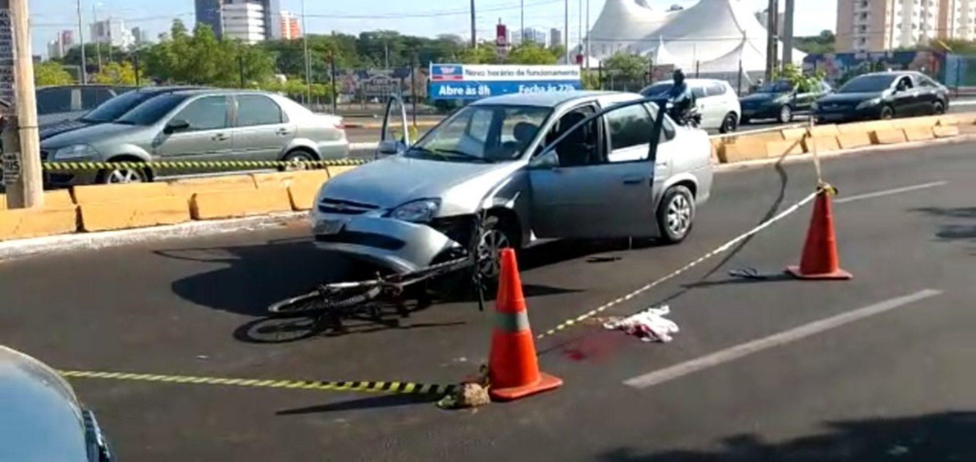 Motorista é baleado por ciclista durante briga de trânsito no Piauí