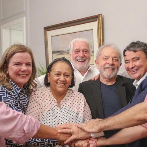 Wellington Dias participa de encontro com Lula e outros governadores petistas