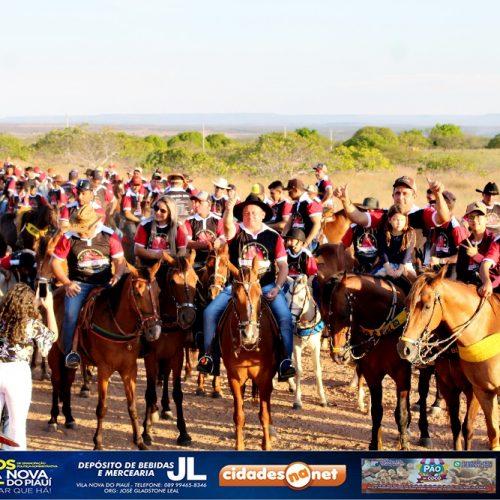 FOTOS | 3ª Cavalgada e Missa do Vaqueiro no aniversário de 24 anos de Vila Nova do Piauí