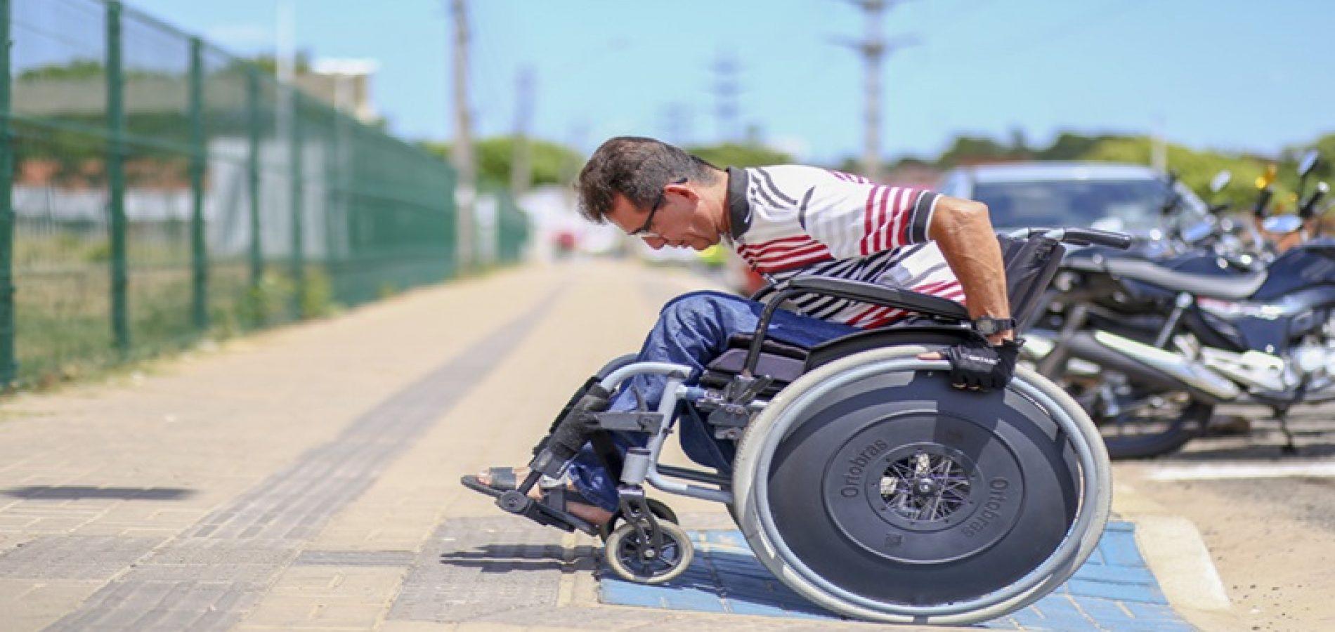 PI   Lei da acessibilidade é ignorada e Ministério Público auxilia cadeirantes a superar desafios