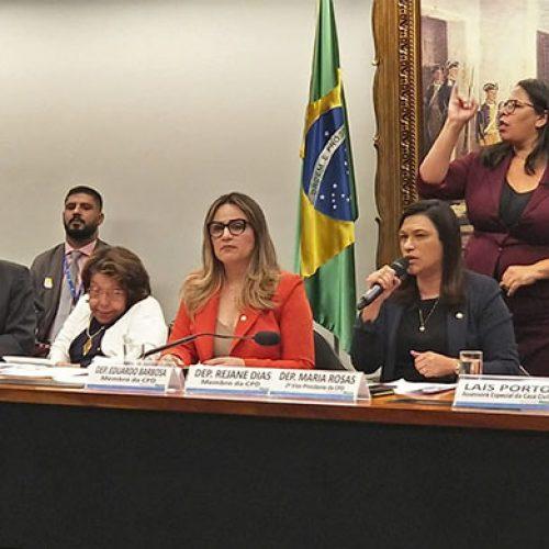 Marcos Mion agradece Rejane Dias por Projeto que cria Carteira Nacional do Autista