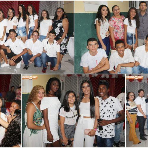 FOTOS | Escola Francisco Crisanto realiza aula da saudade para alunos concluintes do 9º ano