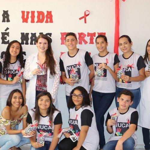 Massapê do Piauí abre a campanha 'Dezembro Vermelho' na prevenção à AIDS e HIV