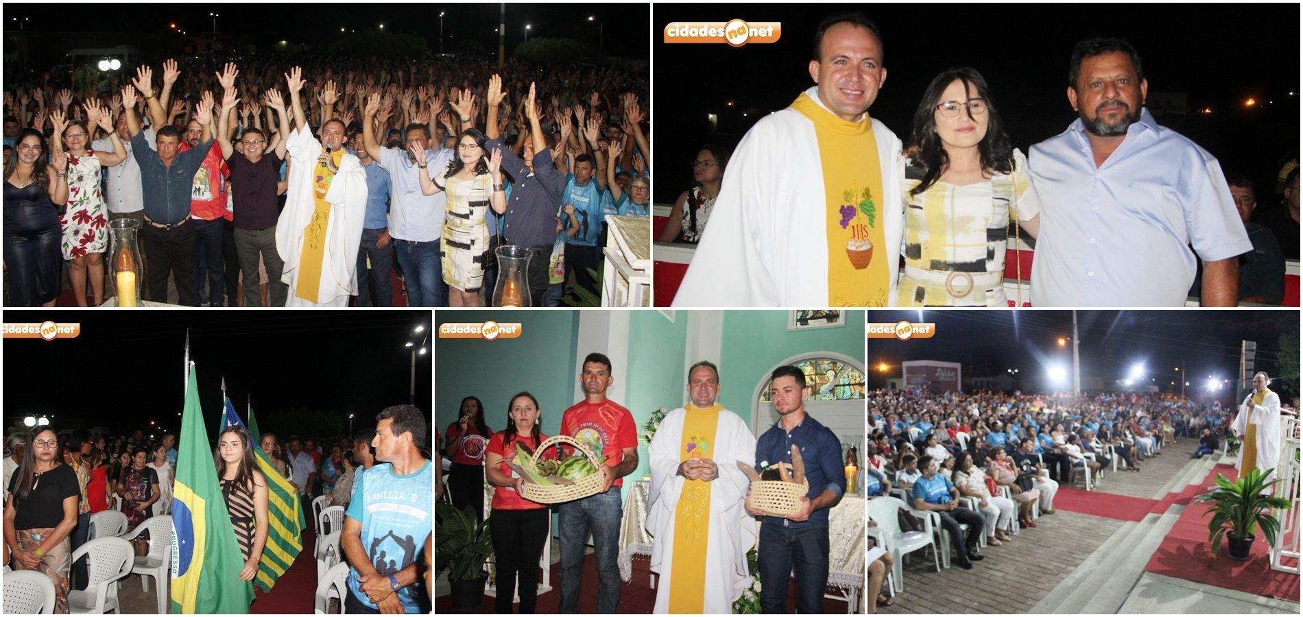 Reunindo multidão, missa celebra Dia do Católico e aniversário de 24 anos de Belém do Piauí