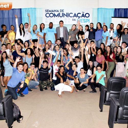 PICOS | Participação de Marcelo Magno e oficinas marcam encerramento da II Semana de Comunicação da UESPI; fotos