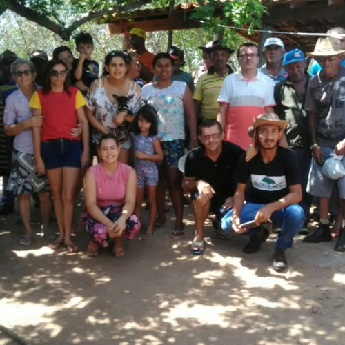 Associação de Francisco Macedo realiza entrega de animais através do 'Programa Viva o Semiárido'