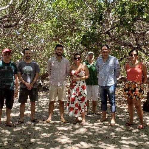 Técnicos da Agência Francesa de Desenvolvimento visitam litoral piauiense