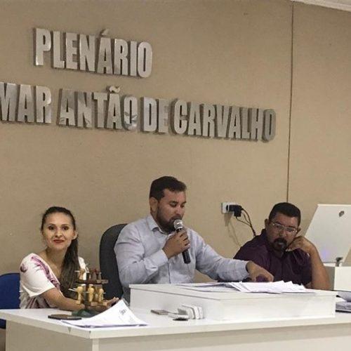 Na última sessão do ano, Câmara Municipal de Francisco Macedo aprova PL que homenageia o cantor Paulo Henrique