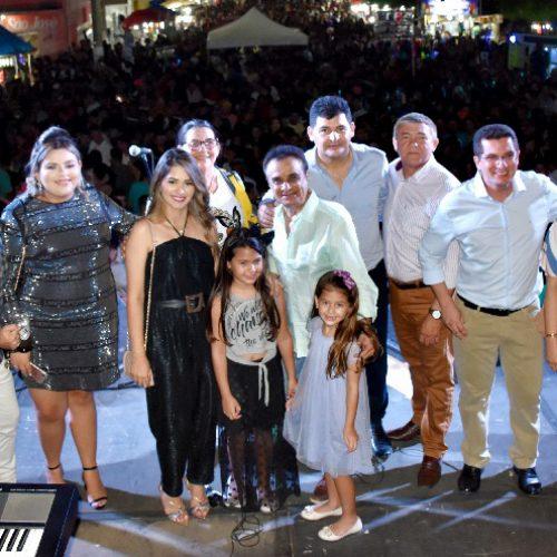 Shows levam multidão ao aniversário de São Julião; prefeito Dr. Jonas destaca sucesso das comemorações