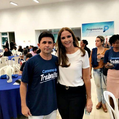 MARCOLÂNDIA | Vereador Chaguinha participa de Confraternização do Progressistas em Teresina