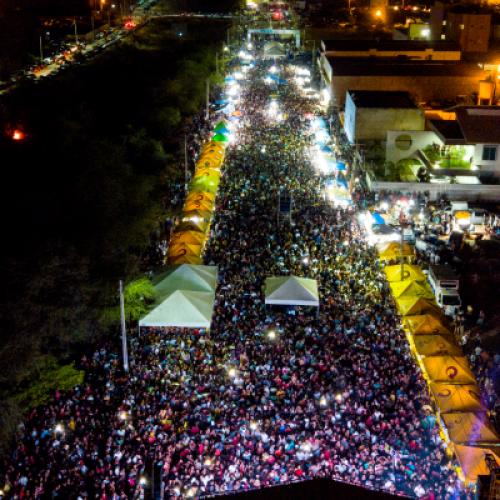 129 ANOS   Multidão celebra aniversário de Picos com Mano Walter e Eric Land