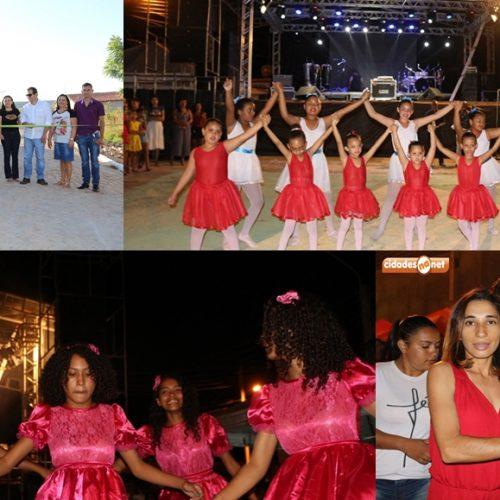 VERA MENDES 24 ANOS   Fotos das inaugurações e apresentações culturais