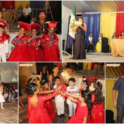 JAICÓS | Escolinha Pequeno Polegar realiza solenidade de formatura dos Doutores do ABC; veja fotos!