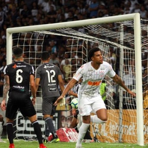 Corinthians vence o ameaçado Ceará e garante vaga na Libertadores
