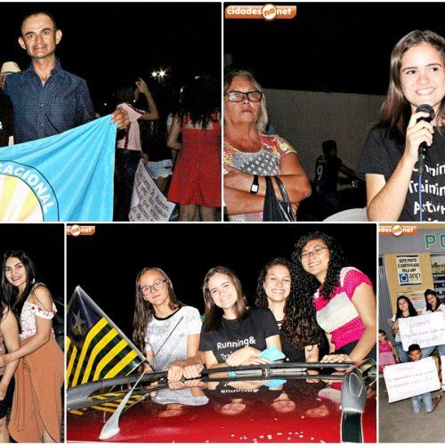 Jovem Senadora Yasmin Carvalho é recebida com carreata em Belém do Piauí