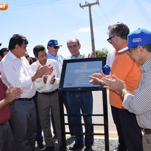 PI-245 | Governador inaugura rodovia que liga Picos a Itainópolis