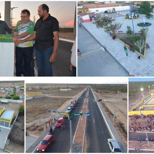 FOTOS   Inauguração de obras e final do Campeonato Municipal no aniversário de Belém do Piauí