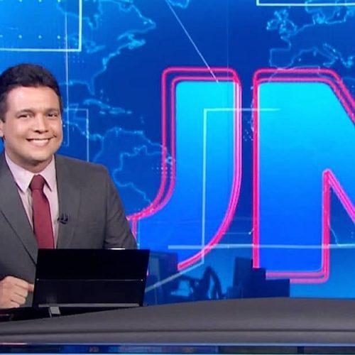 Piauiense Marcelo Magno retorna à bancada do JN na primeira semana de março