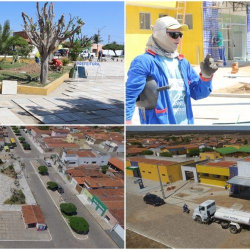 Prefeito Ademar prepara a cidade de Belém para festejar os 24 anos de emancipada