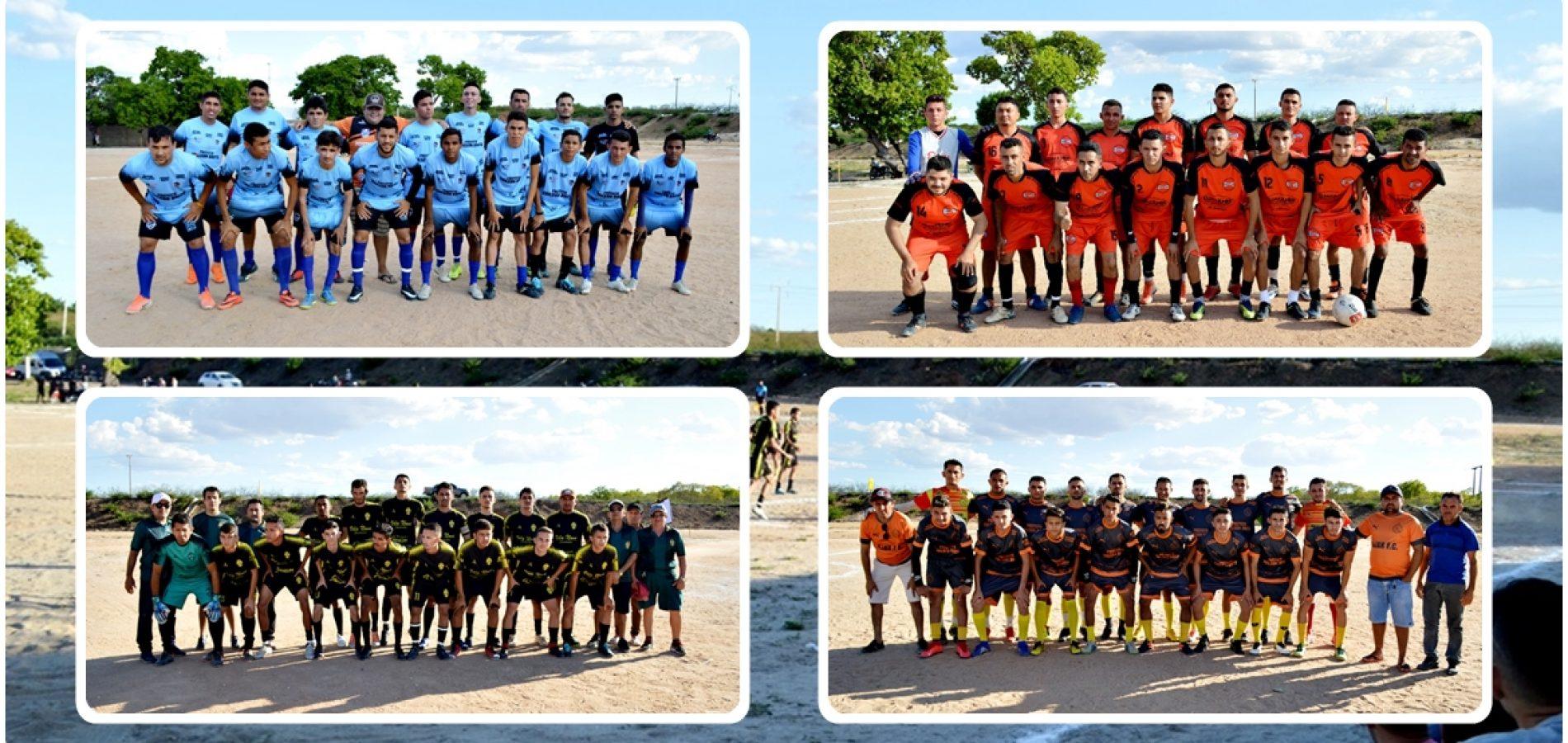 Dois jogos movimentam as semifinais do 20º Campeonato de Futebol de Vila Nova; veja resultados