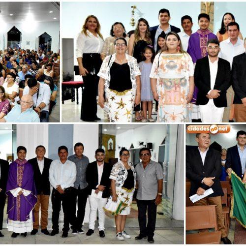 Com a presença do prefeito Dr. Jonas, missa em ação de graças celebra 59º aniversário de São Julião