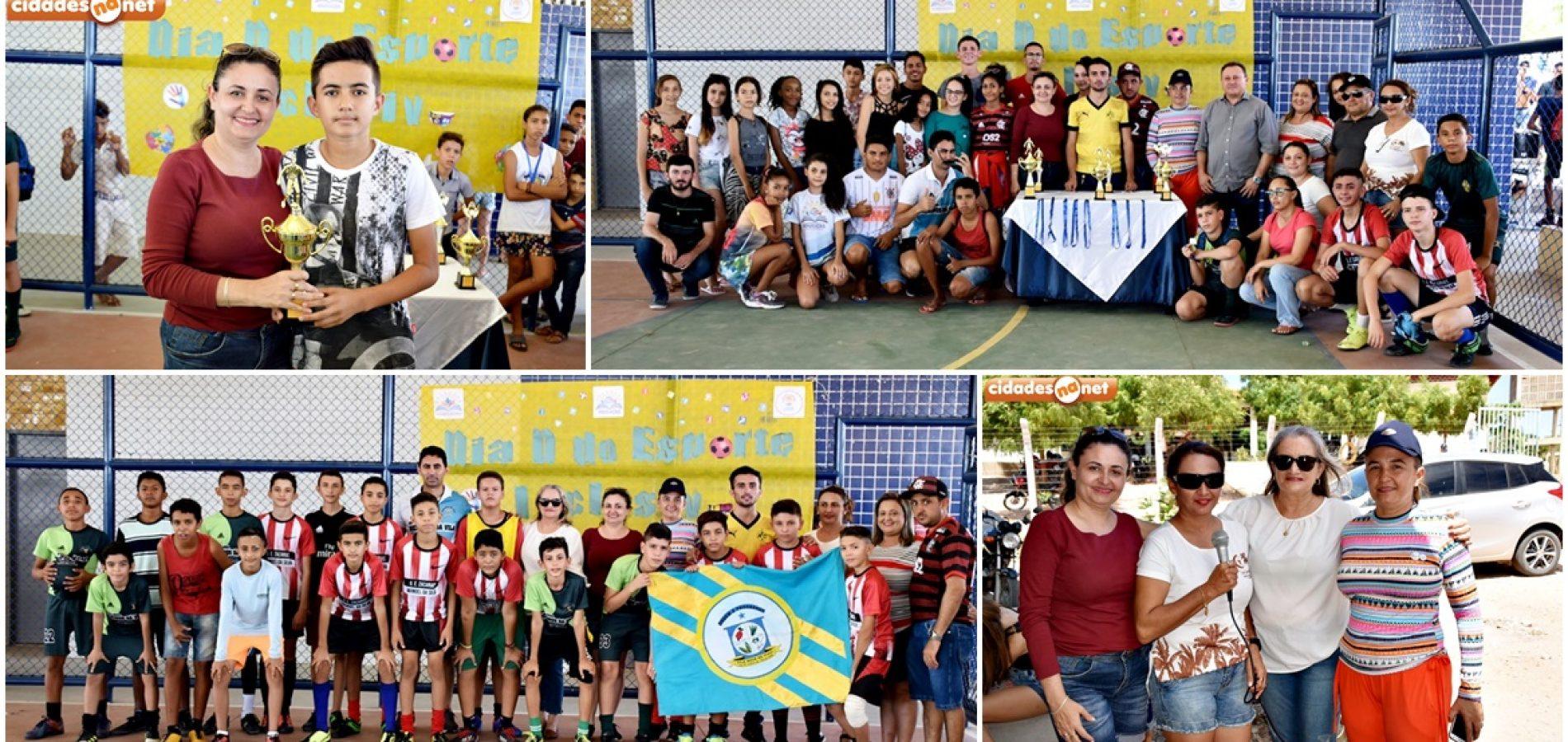 """VILA NOVA   Escolas Sabino Gomes e Zacarias Manoel promovem """"Dia D do Esporte"""""""