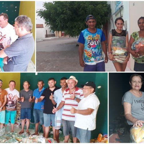 VILA NOVA | Assistência Social realiza entrega de cestas básicas arrecadadas no aniversário da cidade