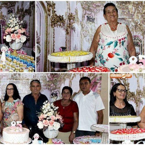 GENTE EM EVIDÊNCIA | Familiares e amigos de dona 'Creusa do Foveiro' celebram seu aniversário de 85 anos; veja fotos