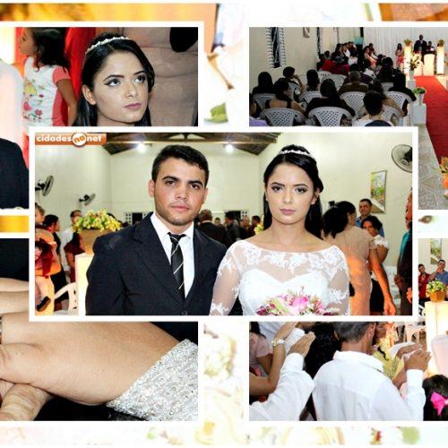 GENTE EM EVIDÊNCIA | Roniel e Joelma dizem sim ao amor em enlace matrimonial em Vila Nova; fotos