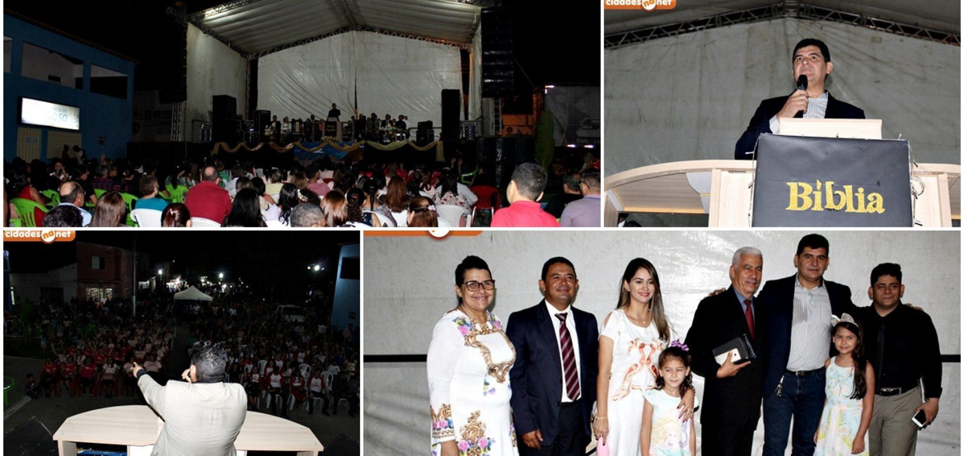 SÃO JULIÃO 59 ANOS | Prefeito Dr. Jonas promove Dia do Evangélico no aniversário do município; fotos