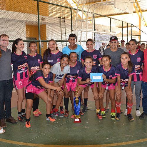 Quadrangular de Futsal Feminino abre as comemorações aos 24 anos de Massapê do Piauí