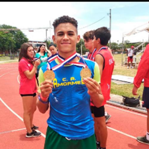 Piauiense conquista duas medalhas de ouro nos Jogos Sul-Americanos Escolares
