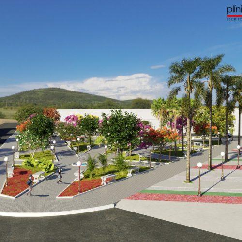 PICOS | Praça Félix Pacheco deve ser concluída em poucos dias após volta da obra