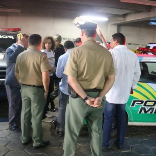 Policial Militar fica ferido e homem é preso durante protesto na Assembleia Legislativa do Piauí