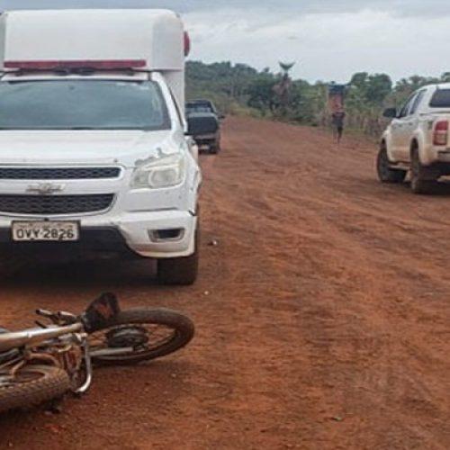 Idoso morre após colisão frontal entre motocicletas em estrada de piçarra na PI-111
