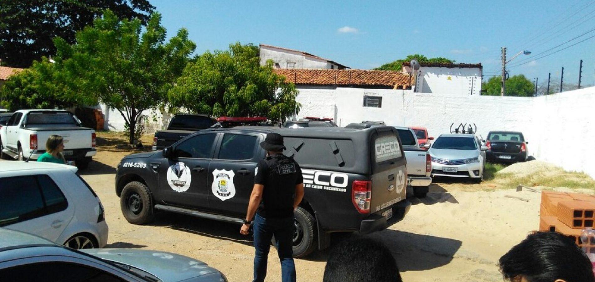 Policiais militares e civis suspeitos de organização criminosa são alvo de operação no Piauí