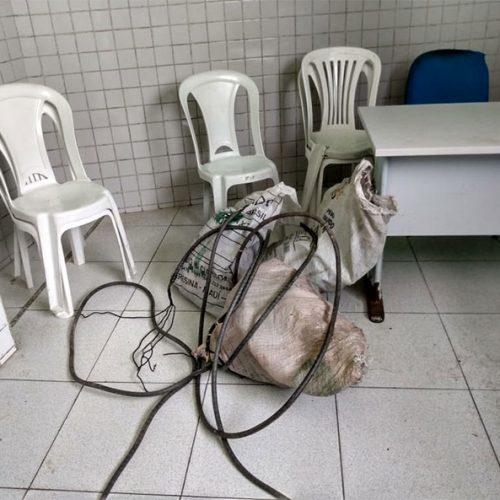 Dupla é presa suspeita de roubo a fiação elétrica em subestação no Piauí