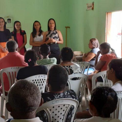 Secretaria de Assistência Social de Vera Mendes promove reunião com beneficiários do BPC
