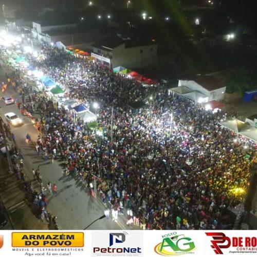 Multidão prestigia a festa do 26º aniversário da Campo Grande do Piauí
