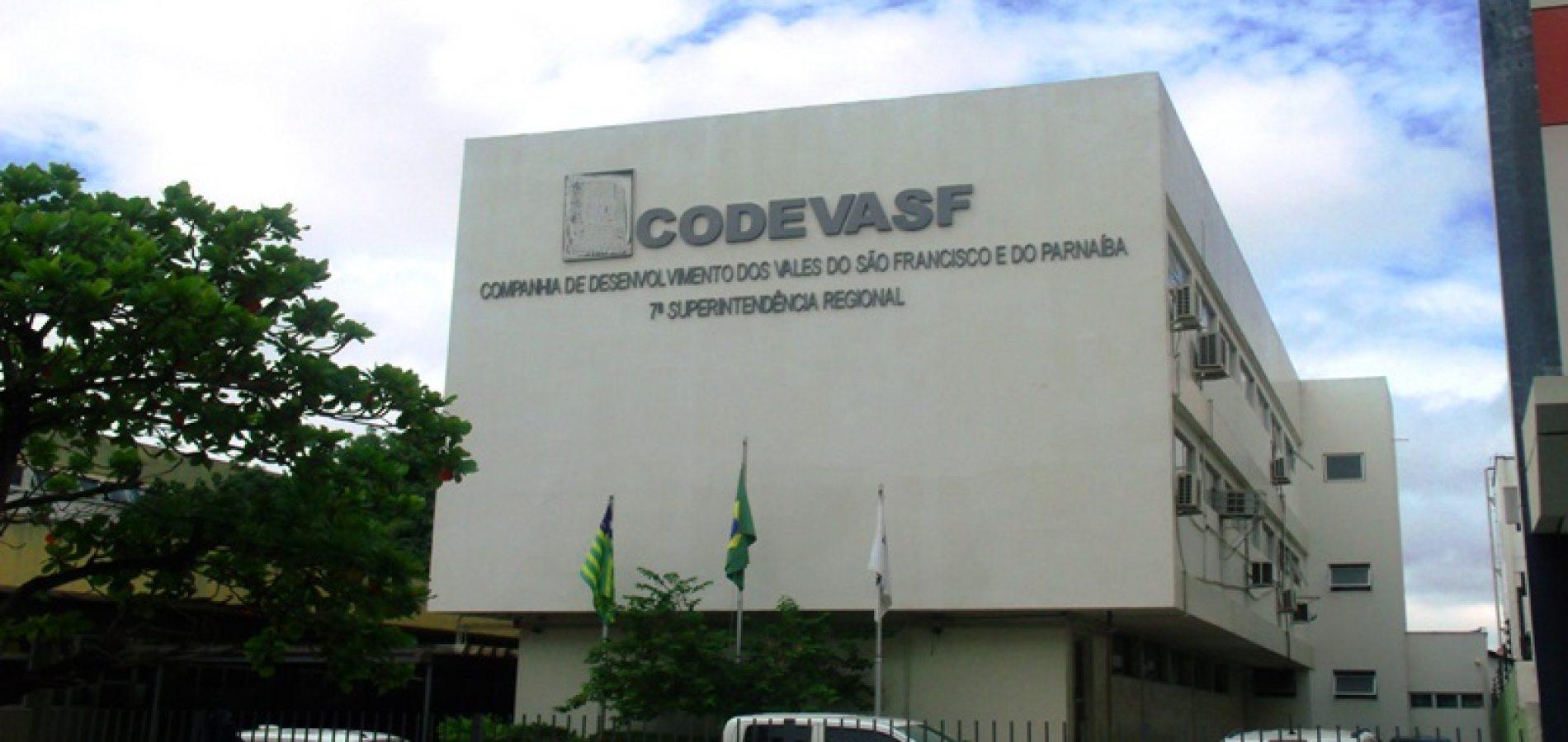 Codevasf abre concurso com vagas para o Piauí e salário de R$ 8 mil