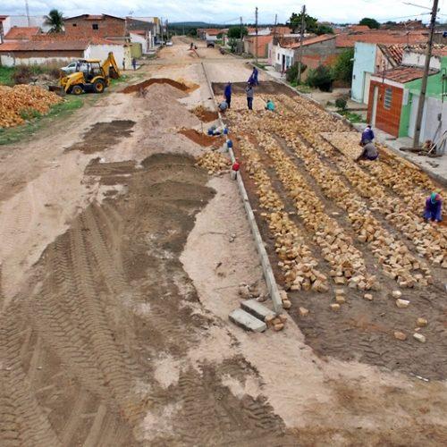 Obras de infraestrutura avançam na cidade e no interior de Jaicós. Veja!
