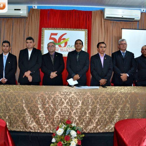 PADRE MARCOS 56 ANOS | Fotos da Sessão Solene, inaugurações de praça e avenida e premiações