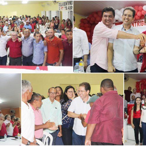 Mávio Silveira filia-se ao PT e oficializa pré-candidatura a prefeito de Jaicós
