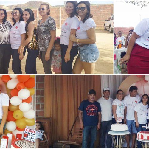 I encontro da família Costa, em Caldeirão Grande do Piauí, reúne cerca de 350 pessoas