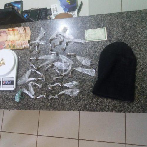 Homem é preso em flagrante por tráfico de drogas em Simplício Mendes