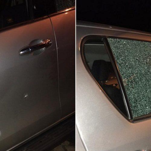 Hilux do filho do prefeito de Elesbão Veloso é alvejada a tiros