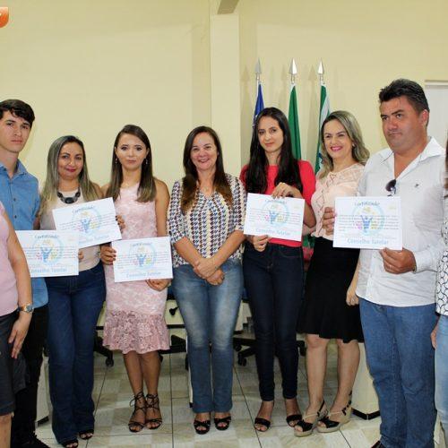 Conselheiros tutelares tomam posse em Santana do Piauí; veja fotos