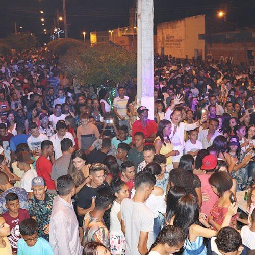 Confira a cobertura fotográfica da festa de réveillon em Curral Novo do Piauí
