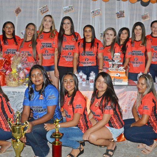 Em Massapê, Olho D'água comemora dez anos de história no futebol feminino